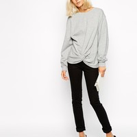 Cheap Monday Knot Sweatshirt at asos.com
