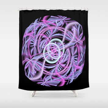 String Ball Shower Curtain by Awesome Palette | Society6