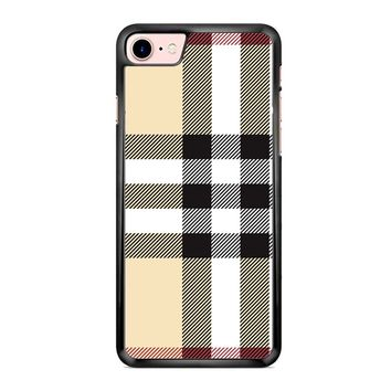 Burberry Pattern iPhone 7 Case