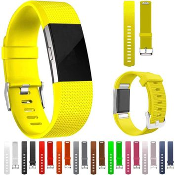 For Fitbit Charge 2 Loop Silicone Replacement Band Wrist Bracelet 🎁⚡USA-SELLER