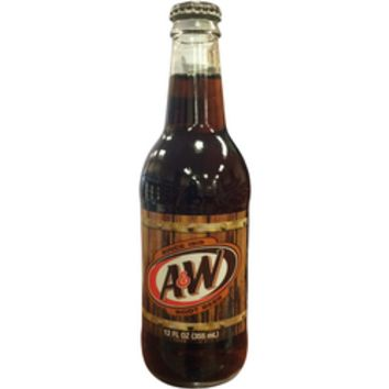 A&W Glass Bottled Root Beer