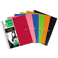 Five Star Quadrille Notebook 8 12 x 11 100 Sheets Assorted Colors No Color Choice by Office Depot
