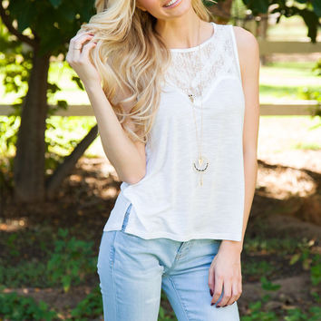 Simply Irresistible Top - Ivory