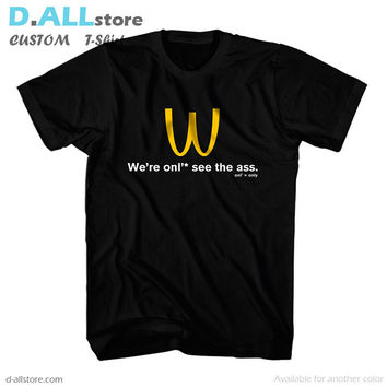 McDonalds I'm lovin it spoof on Upside Down for Custom T-Shirt