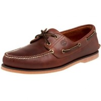 Timberland Men's Classic Boat Shoe,Rootbeer/Brown,8.5 M