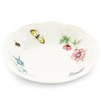 Butterfly Meadow® Fruit Bowl by Lenox