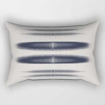 Almost Cozy glitch Rectangular Pillow by duckyb