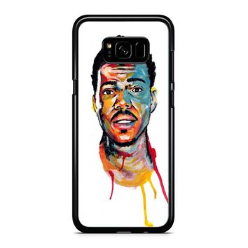 Acrylic Painting Of Chance The Rapper Samsung Galaxy S8 Plus Case