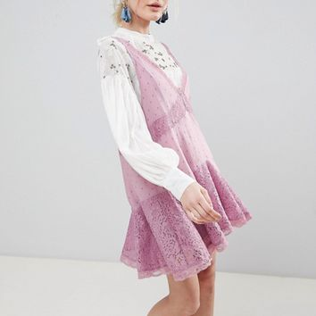 Free People Any Party Trapeze Dress at asos.com