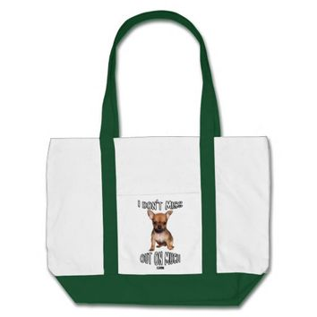 Don't Miss Out Baby Design by Kat Worth Tote Bag