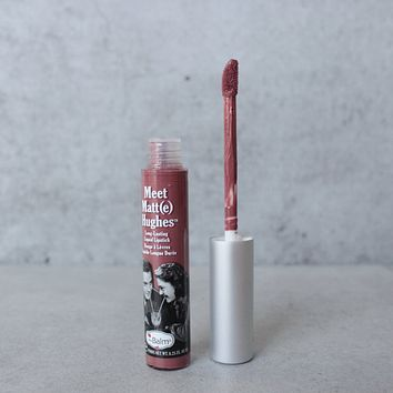 theBalm - Meet Matte Hughes Lip Color - Sincere
