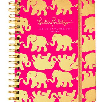 Lilly Pulitzer Large 2016-2017 Agenda- Tusk in Sun