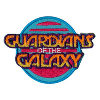 Marvel Guardians Of The Galaxy Logo Iron-On Patch