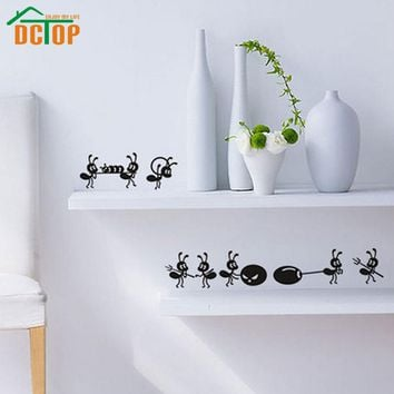 Ants Move House Funny Wall Stickers