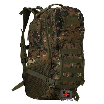 Woodland digital Tactical T A D military assault backpack Molle Airsoft Hunting Camping Survival Outdoor Sports climbing bag