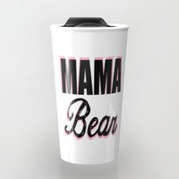 Mama Bear to Baby Girl Travel Mug by Love Lunch Liftoff
