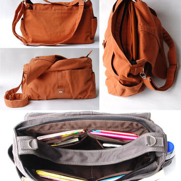 CHRISTMAS SALE Pico2 in Cinnamon (Water Resistant) Purse / Laptop / Shoulder bag / Messenger Bag / Handbag / Wallet / Diaper Bag / Hobo Bag
