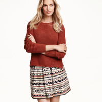 H&M Patterned Skirt $29.99