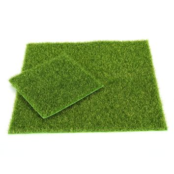 2017 Hot Selling 1pc 15cm 49cm Artificial Lawn Grass Garden Ornament DIY Wedding Party Decoration Garden Supplies