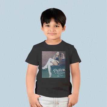 Kids T-shirt - Ariana Grande ft Iggy Azalea Problem