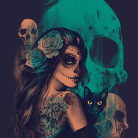 UNTIL THE VERY END Art Print by Nanda Correa