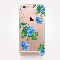 Transparent Spring Flowers iPhone Case - Transparent Case - Clear Case - Transparent iPhone 6 - Transparent iPhone 5 - Transparent iPhone 4