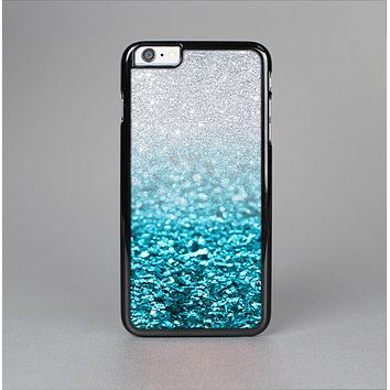 The Turquoise & Silver Glimmer Fade Skin-Sert for the Apple iPhone 6 Skin-Sert Case