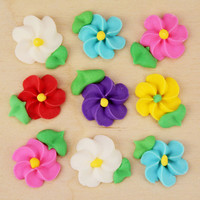 Spring Icing Flowers