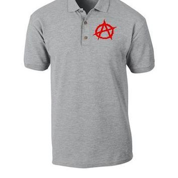 Anarchy embroidery - Polo Shirt