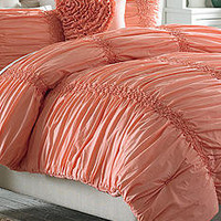 MaryJane's Home Cotton Clouds Coral Bedding Collection