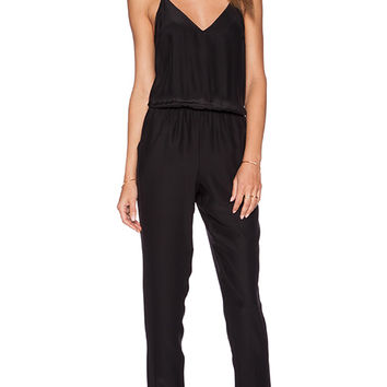 Amanda Uprichard Cricket Jumpsuit in Black