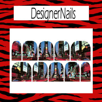 Town Square day Nail Decal