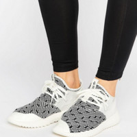 adidas Originals Black And White Print Primeknit Tubular Sneakers
