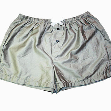 Sleep Shorts Taupe/Light Grey/Pink - S/M
