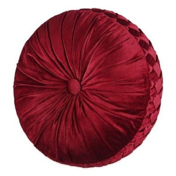 J. Queen New York™ Roma Tufted Round Throw Pillow