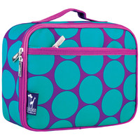 Big Dot Aqua Lunch Box - 33119