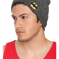 DC Comics Batman Marled Beanie | Hot Topic