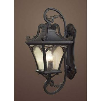 Elk Lighting 42043/5 Hamilton Park Extra Large Charcoal Outdoor Lantern