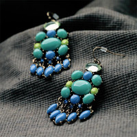 Multi Pandent Dangle Fashion Earring