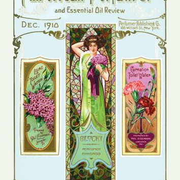 American Perfumer and Essential Oil Review, December 1910 20x30 poster