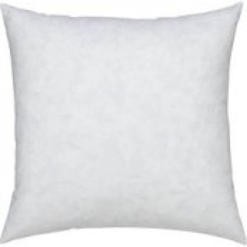 """20X20""""- SQUARE 95% FEATHER 5% DOWN PILLOW INSERT"""