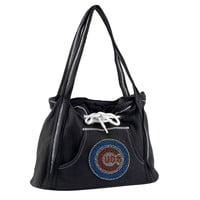 Chicago Cubs MLB Sport Noir Hoodie Purse