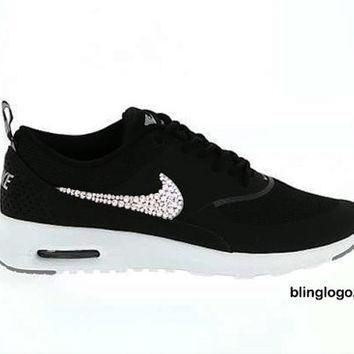 Tagre™ Bling Nike Shoes With Swarovski Elements Crystals