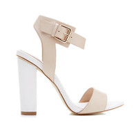 Chelsea Block Heel Sandal - Heels - Shoes