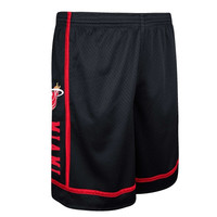 Miami Heat adidas Originals Mesh Short - Black