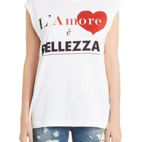 Dolce&Gabbana Amore Graphic Tank Top   Nordstrom