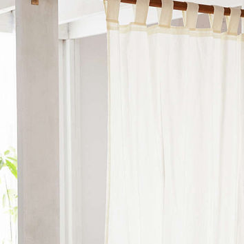 Mid-Century Modern Wood Curtain Rod | Urban Outfitters