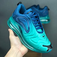 Nike Air Max 720 Green Carbon Running Shoes - Best Deal Online