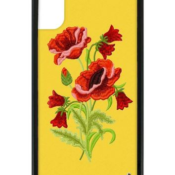Yellow Floral iPhone X Case
