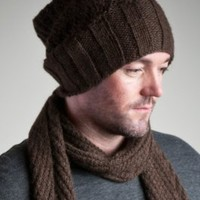 the mixki | classic slouch alpaca hat - for men - Shop Alpaca Clothes & Accessories